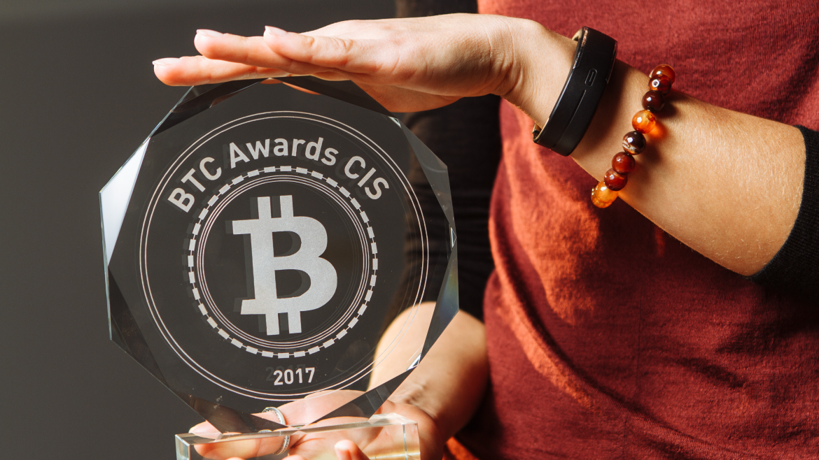 Aroundb will organise the first btc awards cis ceremony in the field of cryptocurrency and blockchain technology