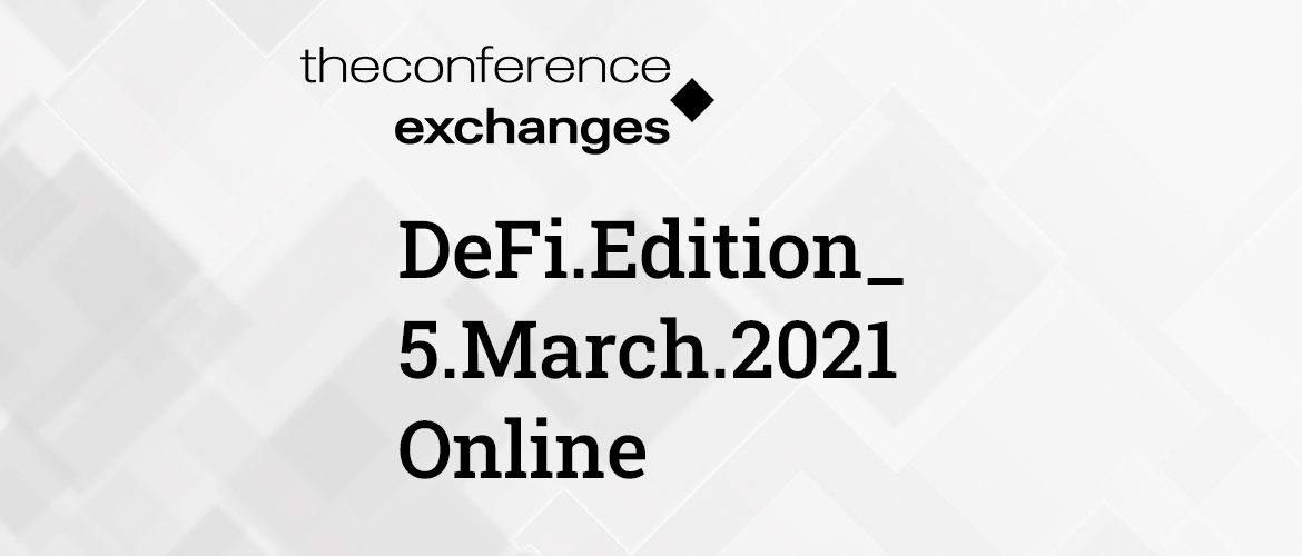 The Conference.Exchanges is back in 2021!