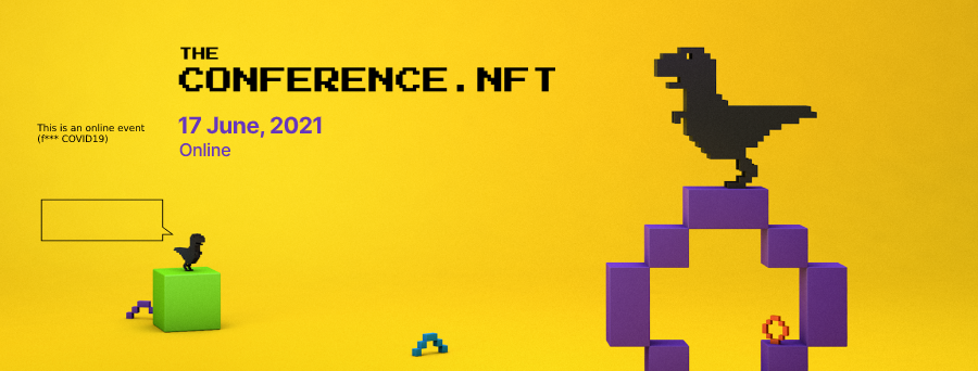 The world's first NFT conference coming soon.