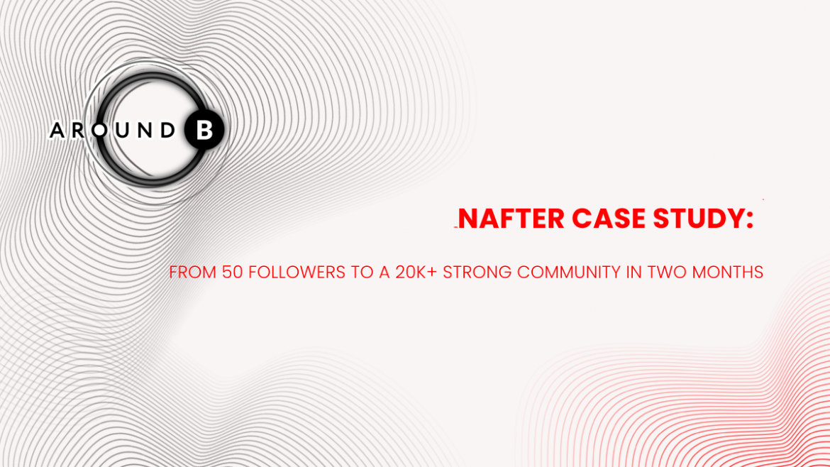 Nafter Case Study: from 50 Followers to a 20k+ Strong Community in Two Months